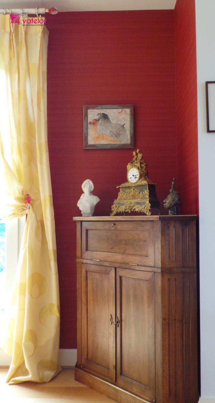 for Papier peint salon salle amanger