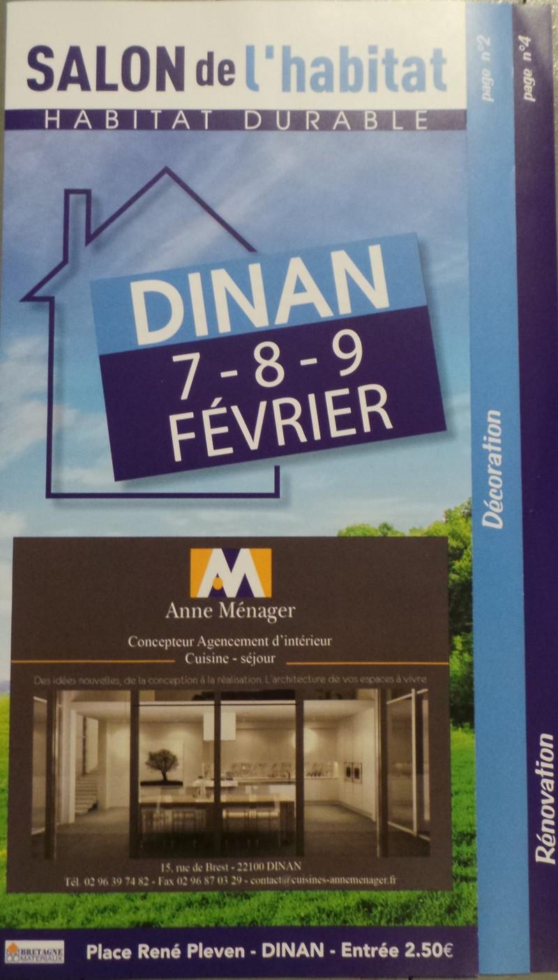 Brochure salon de l 39 habitat florence vatelot for Salon de l habitat rochefort