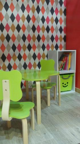 création d'un espace enfant