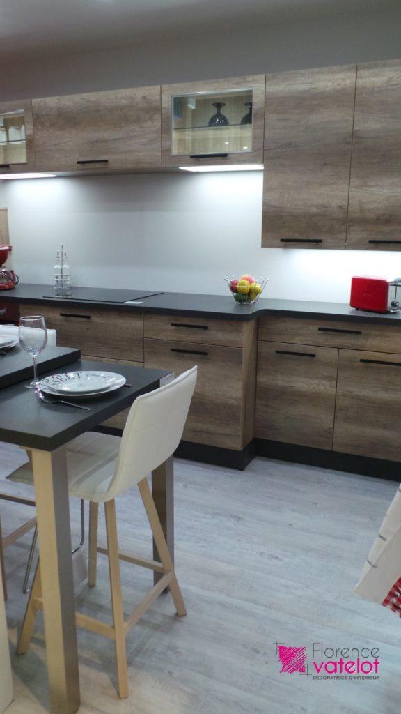 cuisine appartement décorée