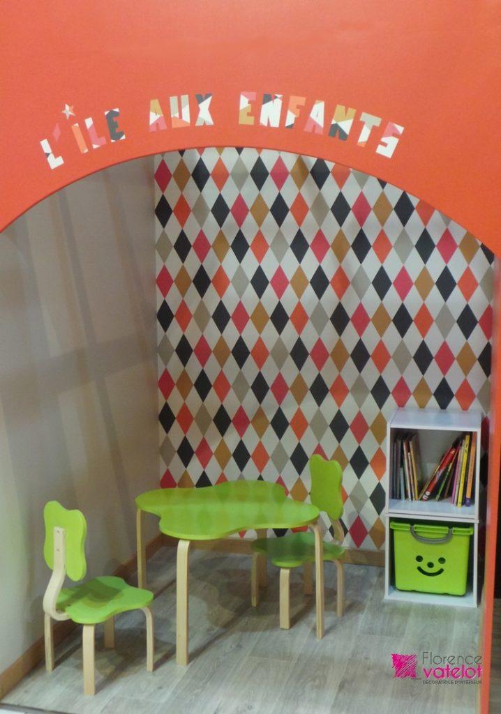 décoration d'un espace enfant