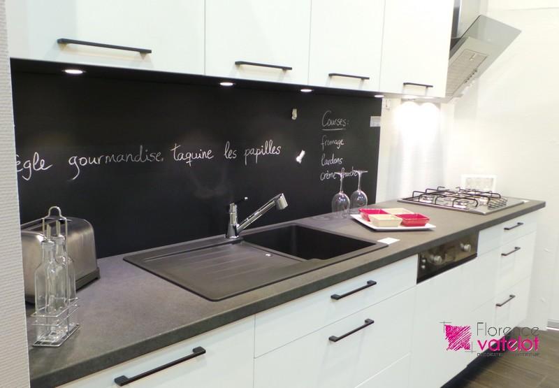 décoration d'une cuisine d'exposition