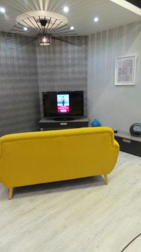 espace salon décoration