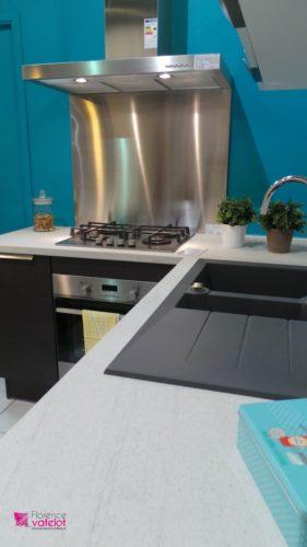 mise en couleur d'une cuisine