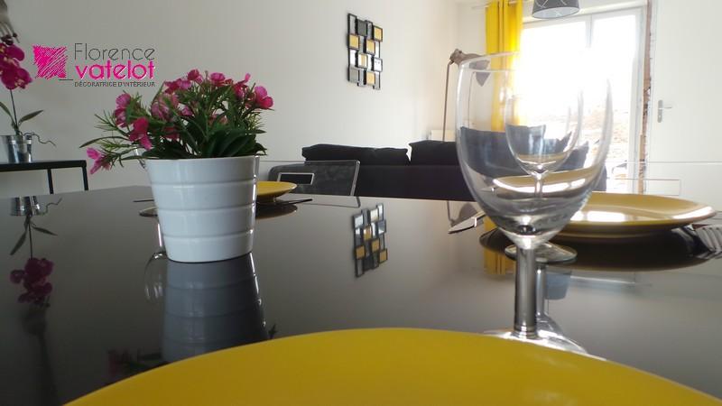focus objet de décoration salle à manger