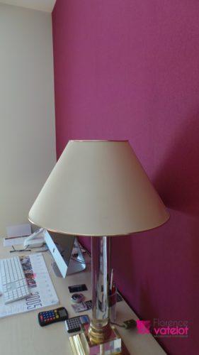 focus papier peint rose