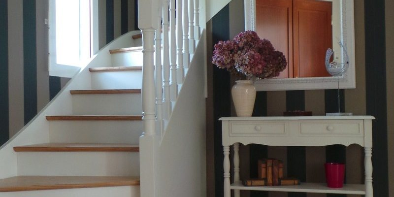 rénovation d'un escalier cancale