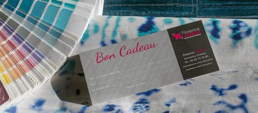Bon cadeau pour une visite conseils en décoration, par Florence Vatelot, Décoratrice UFDI sur St Malo, Dinard, Dinan, Cancale.