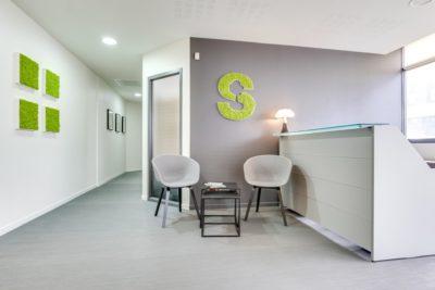 Aménagement de bureaux à St Grégoire (35) par Florence Vatelot, Décoratrice UFDI à St Malo, Dinan, Dinard et Cancale (22)