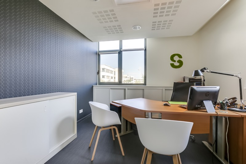 Agencement et aménagement de bureaux professionnels à St Grégoire (35) par Florence Vatelot, Décoratrice UFDI à St Malo, Dinan, Dinard et Cancale (22)
