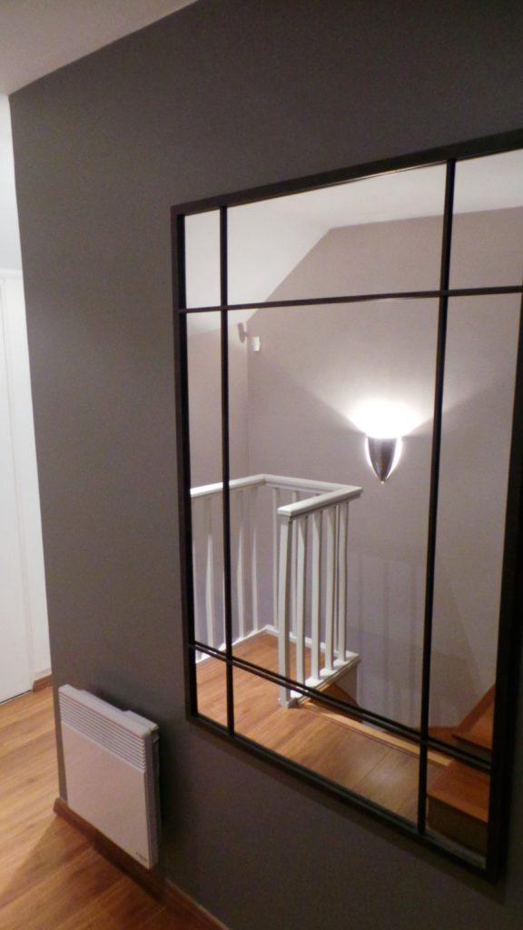 Décoration d'un couloir par Florence Vatelot, Décoratrice UFDI à St Malo, Dinan, Dinard et Cancale (22 et 35)