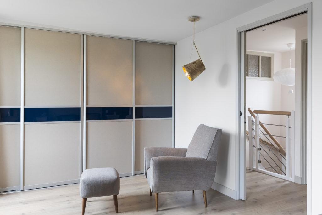 Aménagement chambre par Florence Vatelot, Décoratrice UFDI à St Malo, Dinan, Dinard et Cancale (22 et 35)