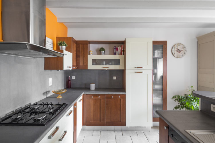 Seconde vie pour une cuisine par Florence Vatelot, Décoratrice UFDI à St Malo, Dinan, Dinard et Cancale (22 et 35)