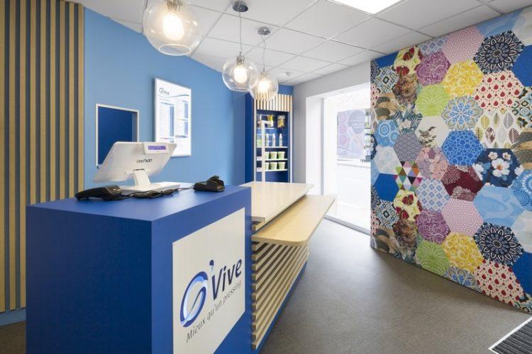 Création d'une décoration pour boutique à Rennes par Florence Vatelot, Décoratrice UFDI à St Malo, Dinan, Dinard et Cancale (22 et 35)