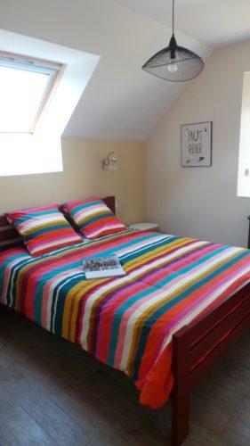 Déco pour chambre location par Florence Vatelot, Décoratrice UFDI à St Malo, Dinan, Dinard et Cancale (22 et 35)