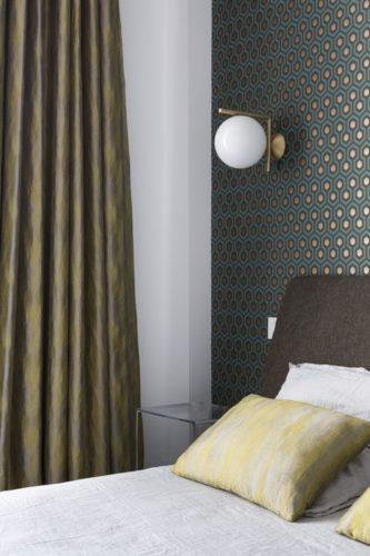 Décoration de chambre à Dinard, par Florence Vatelot, Décoratrice UFDI à St Malo, Dinan, Dinard et Cancale (22)