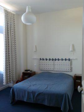 Chambre avant travaux à Dinard, par Florence Vatelot, Décoratrice UFDI à St Malo, Dinan, Dinard et Cancale (22)