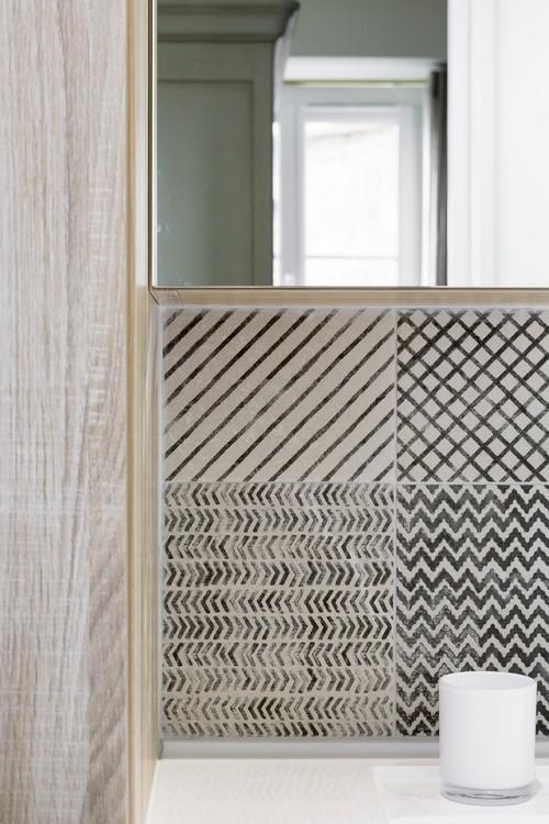 Rénovation d'une salle de bain Dinard, réalisation Florence Vatelot