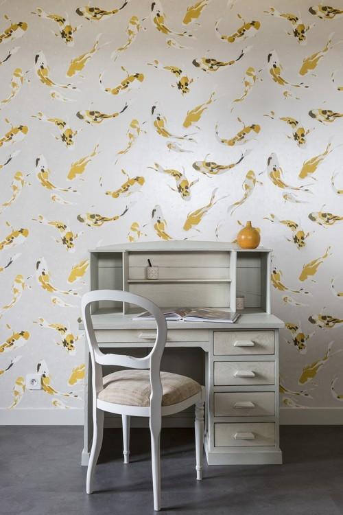 Décoration d'un petit salon à Dinard, réalisation Florence Vatelot