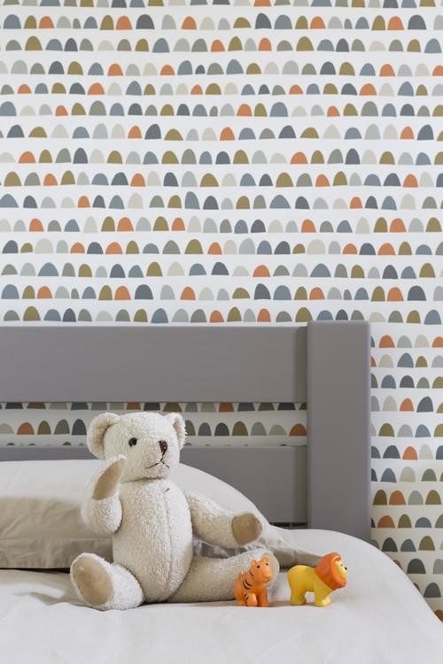 Décoration d'une chambre d'enfant à Dinard, réalisation Florence Vatelot Décoratrice