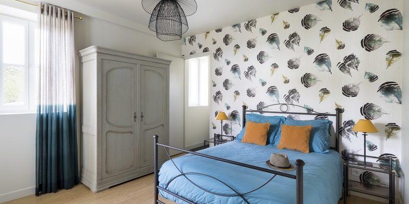 Décoration d'une suite parentale à Dinard par Florence Vatelot, Décoratrice UFDI à St Malo, Dinan, Dinard et Cancale (22)