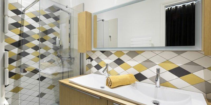 Décoration de salle de bain par Florence Vatelot, Décoratrice UFDI à St Malo, Dinan, Dinard et Cancale (22)