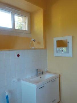 avant travaux rénovation salle de bain