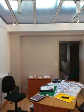 le bureau du notaire avant les travaux