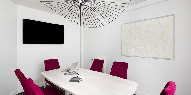 décoration et agencement d'un office notarial et sa salle de réunion saint malo par Florence Vatelot décoratrice Ufdi