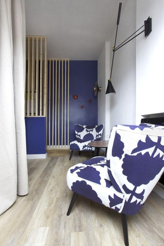 Decoration bureau pour thérapeuthe à Paris par Florence Vatelot, Décoratrice membre UFDI à St Malo, Dinan, Dinard et Cancale (22)