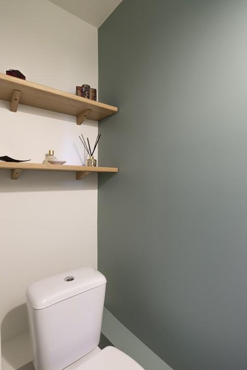 mise en couleur toilettes