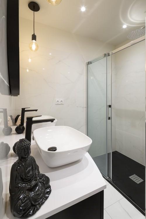 ST-MALO - décoration d'une salle de bain