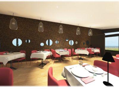 decoration restaurant saint lunaire