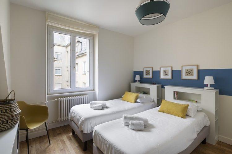 aménagement appartement saint malo by Florence Vatelot