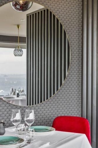 décoration agencement restaurant saint lunaire