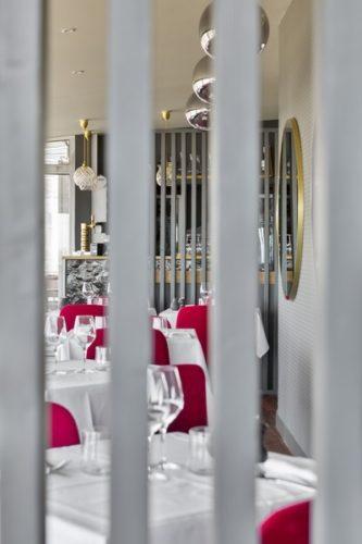 restaurant du décollé décoré par florence vatelot