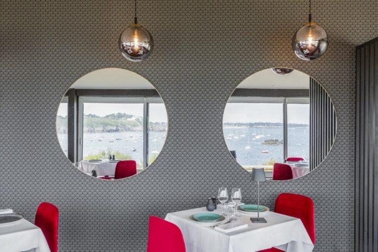 saint lunaire 35 decoration et aménagement d'un restaurant gastronomique